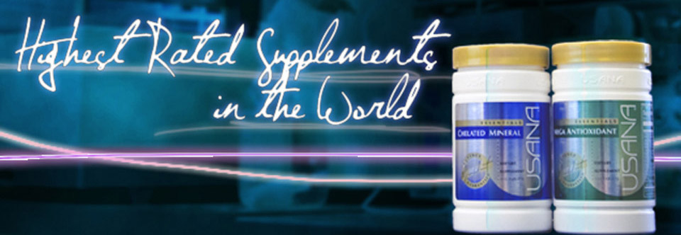 USANA Essentials : The highest-rated supplements in the world